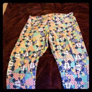 Lularoe tc Disney leggings, brand new